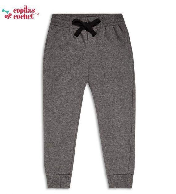 Pantaloni trening gri 1