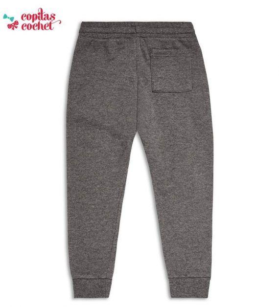 Pantaloni trening gri