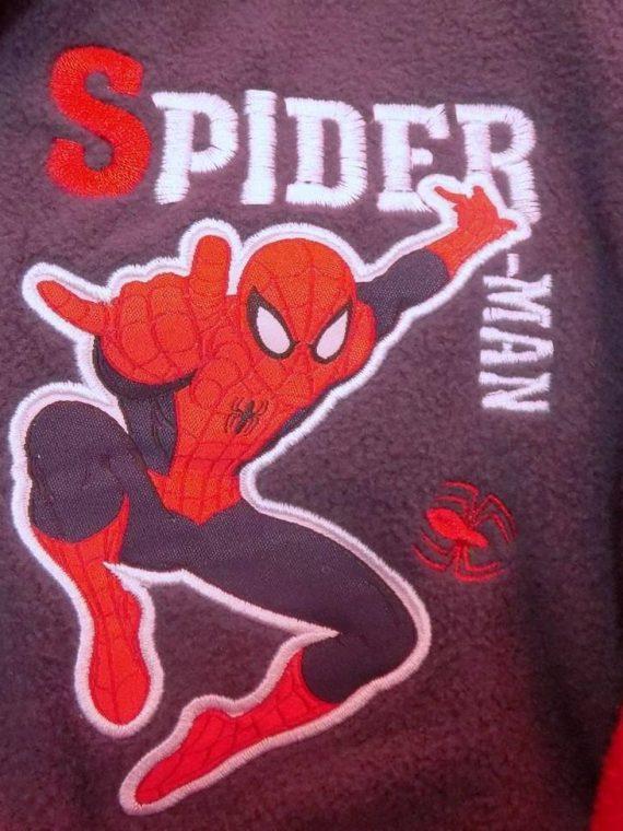 Halat Spiderman (gri petrol)
