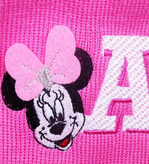 Caciula de primavara Minnie Mouse (roz)