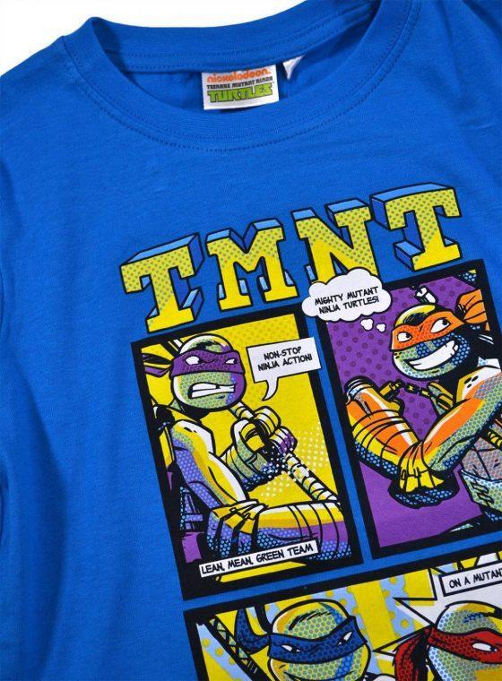 Pijamale Testoasele Ninja (albastru-gri)