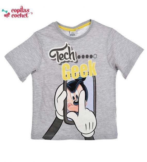 Tricou Mickey Mouse (gri) 1