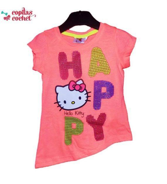 Tricou Hello Kitty (coral) 1