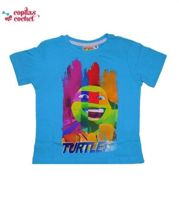 Tricou Testoasele Ninja (albastru) 1