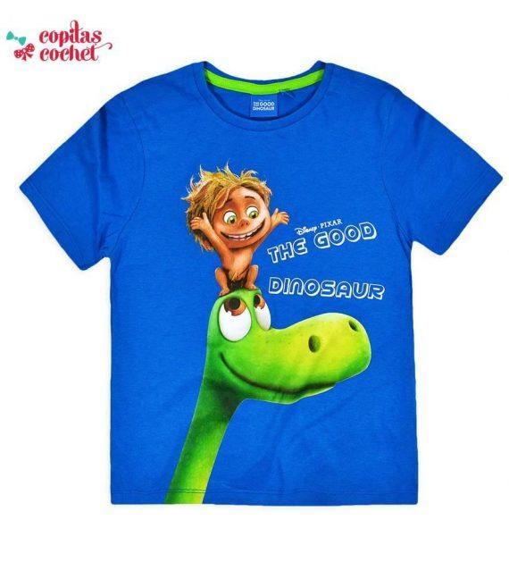 Tricou Bunul Dinozaur (albastru) 1