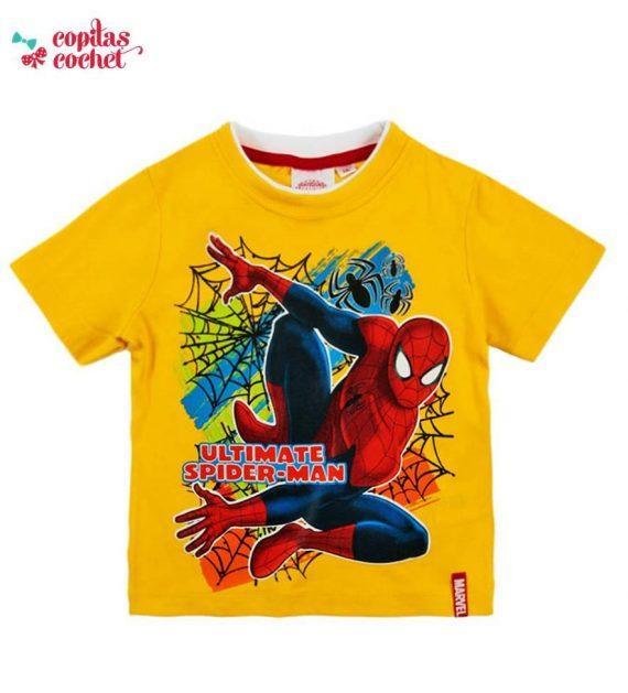 Tricou Spiderman (galben) 1