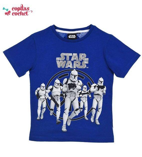 Tricou Star Wars (albastru) 1