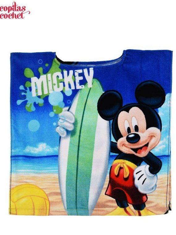 Poncho de plaja Mickey Mouse (fara gluga) 1