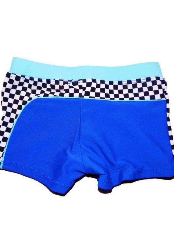 Boxer de baie Fulger McQueen (albastru) 1