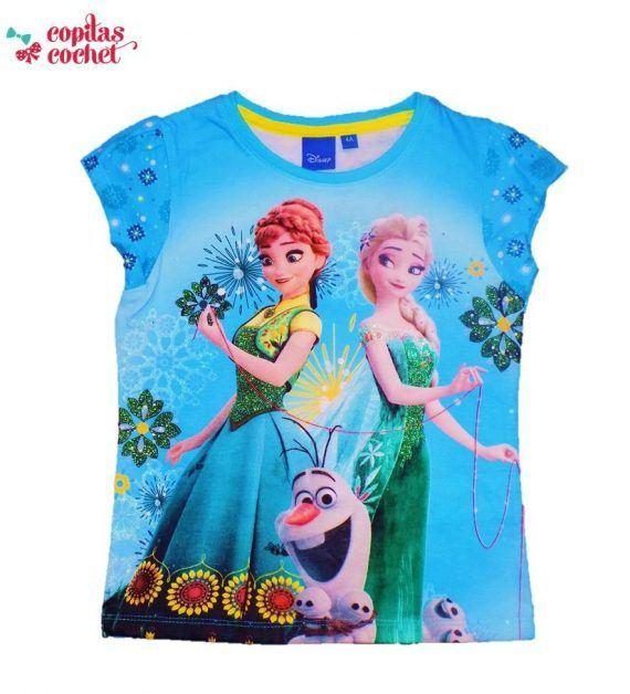 Tricou Anna, Elsa si Olaf 1