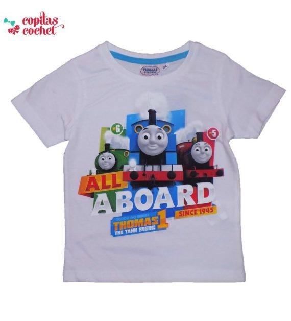 Tricou Thomas (alb) 1