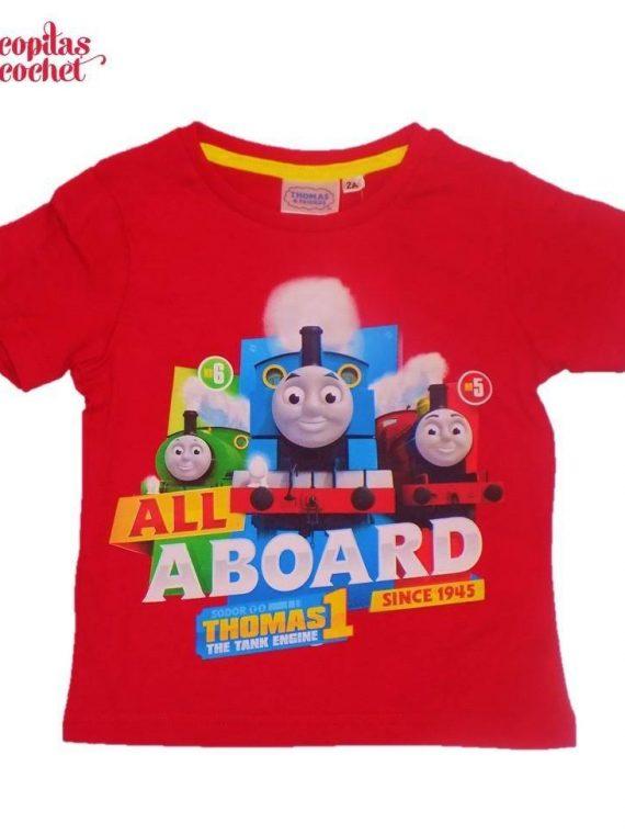 Tricou Thomas (rosu) 1