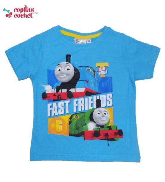 Tricou Thomas (albastru) 1