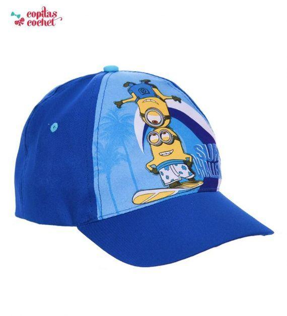 Sapca Minions (albastru) 1