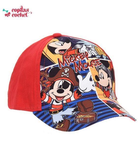 Sapca Mickey Mouse (rosu) 1