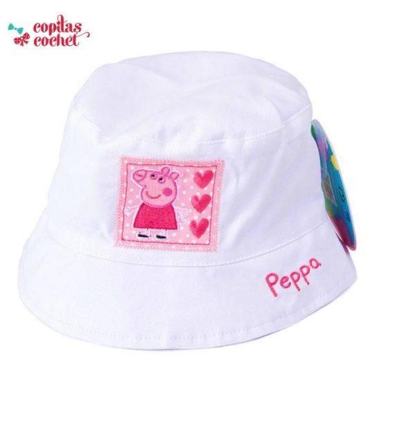Palarie Peppa Pig (alb) 1