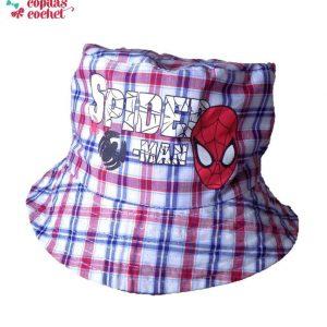 Palarie Spiderman bleumarin(2 fete) 1