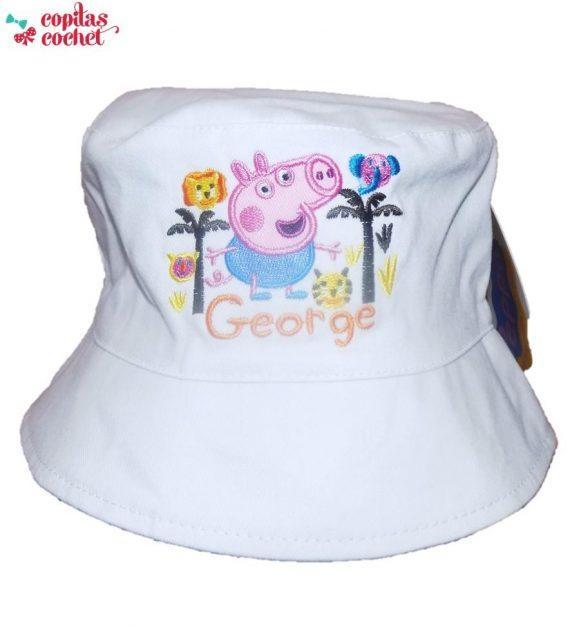 Palarie George Pig (alb) 1