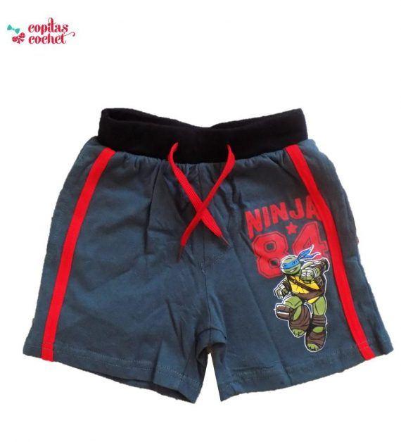 Pantaloni srti Testoasele Ninja 1