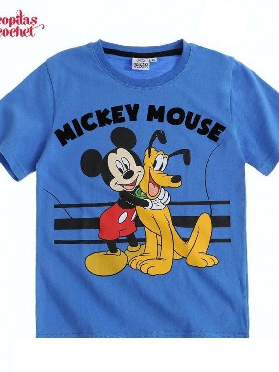 Tricou Mickey Mouse (albastru) 1