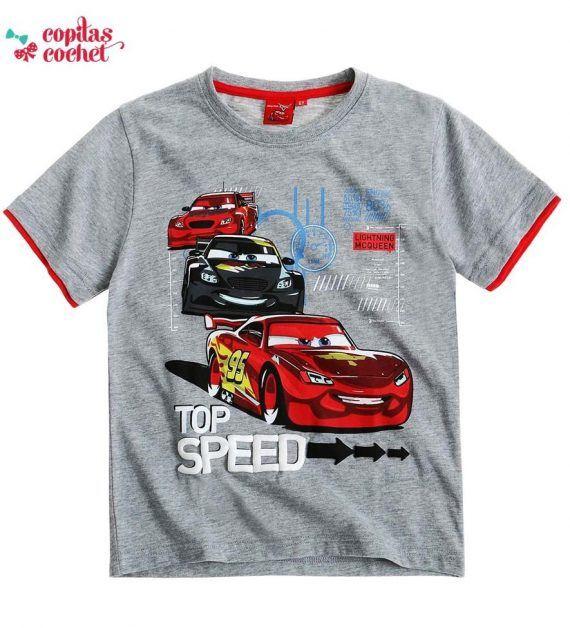 Tricou Fulger McQueen (gri) 1