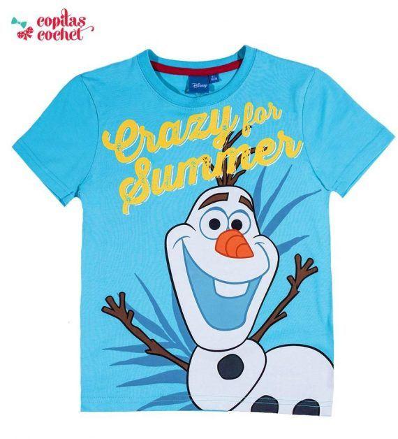 Tricou Olaf (albastru) 1