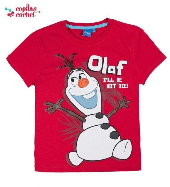 Tricou Olaf (rosu) 1