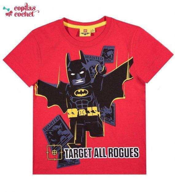 Tricou Lego Batman (rosu) 1