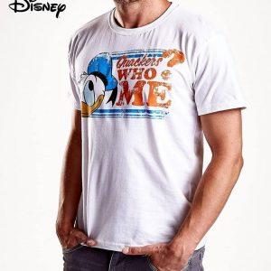 Tricou adulti Donald (alb)