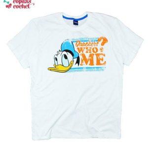 Tricou adulti Donald (alb) 1