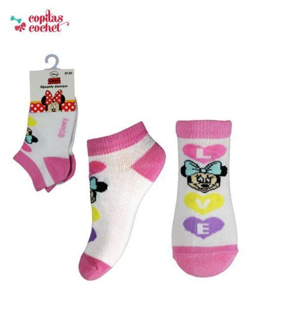 Sosete srte Minnie Mouse (roz) 1