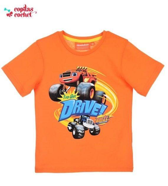 Tricou Blaze (orange) 1