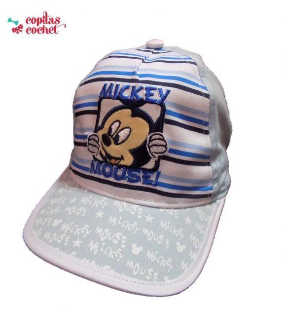 Sapca bebe Mickey Mouse (bleu) 1