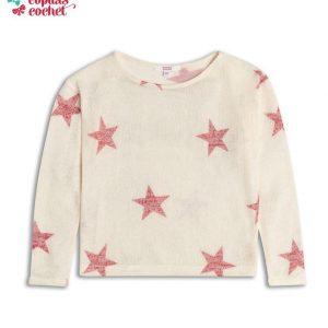 Bluzita tricotata model Stelute 1