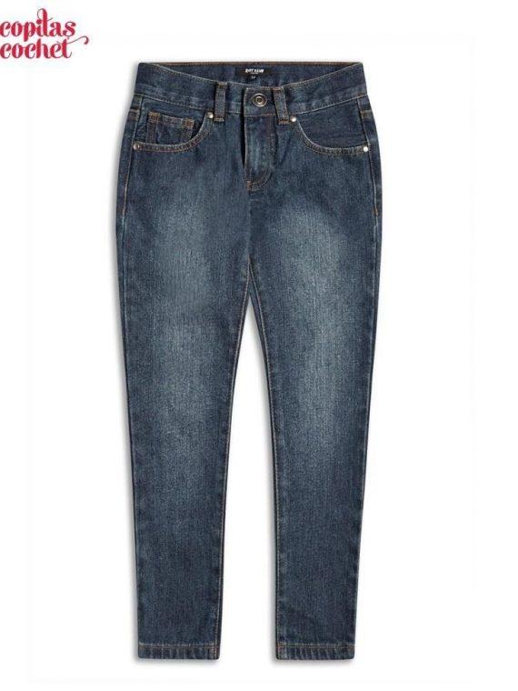 Pantaloni blugi bleumarin