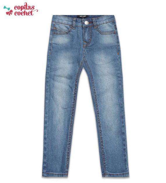 Pantaloni blugi bleu 1