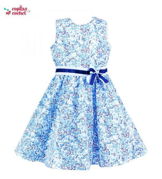 Rochie Faria (albastru) 1