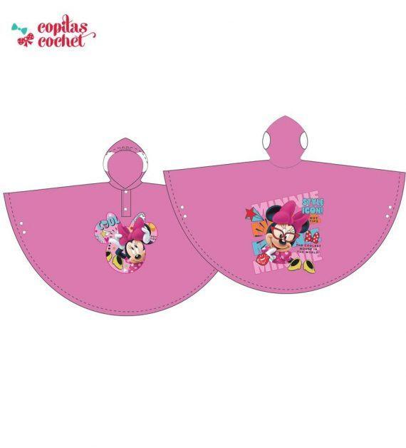 Pelerina de ploaie Minnie Mouse (roz) 1