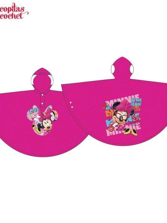 Pelerina de ploaie Minnie Mouse (fucsia) 1