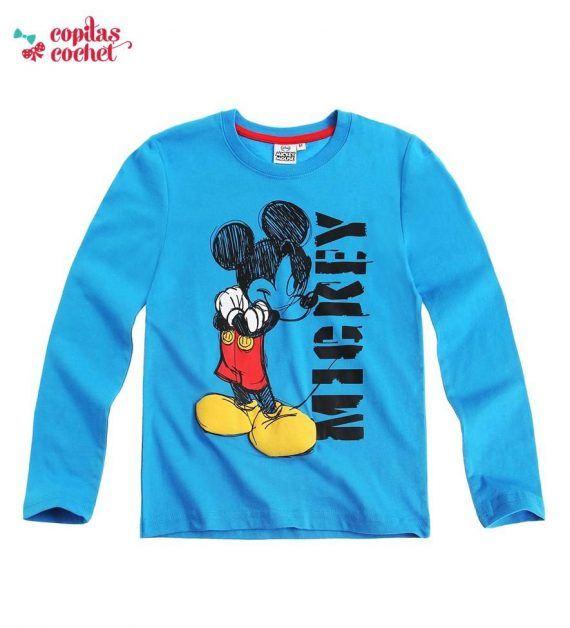 Bluza Mickey Mouse (albastru) 1
