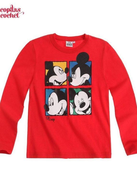 Bluza Mickey Mouse (rosu) 1