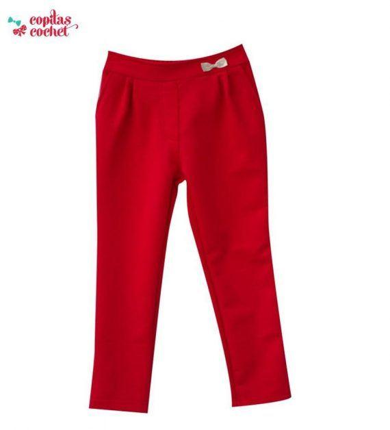 Pantaloni fundita (rosu) 1