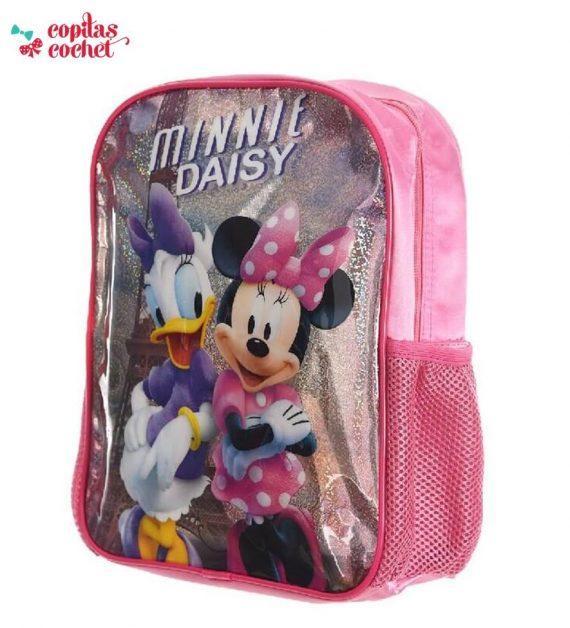 Ghiozdanel Minnie Mouse sclipici 2