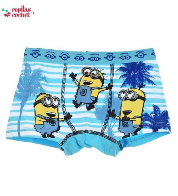 Boxer Minions (albastru) 1