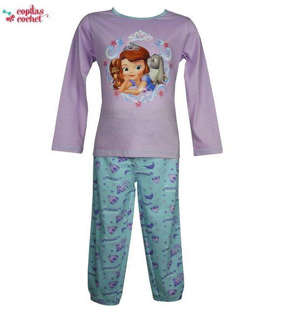 Pijamale Sofia (lila) 1