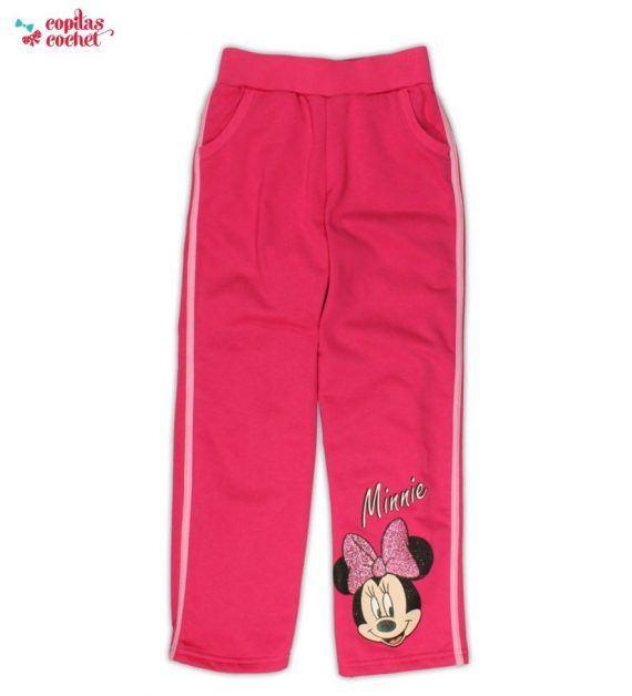 Pantaloni trening Minnie Mouse(roz) 1