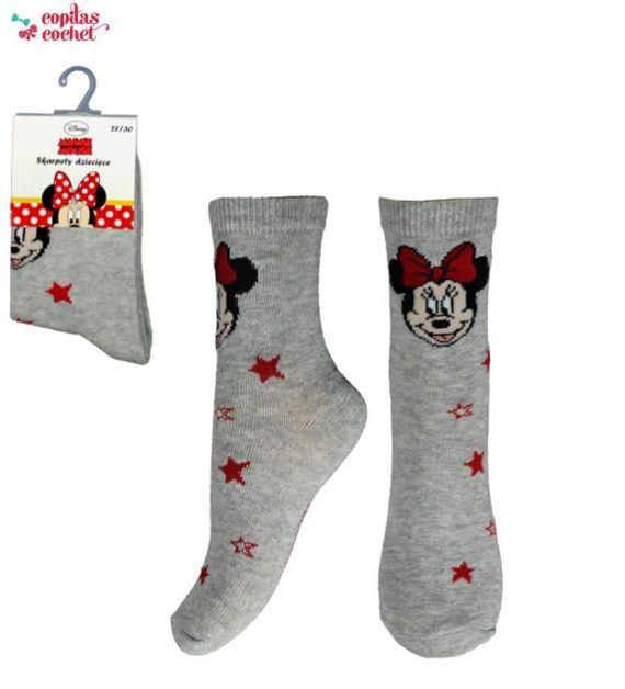Sosete Minnie Mouse (gri) 1