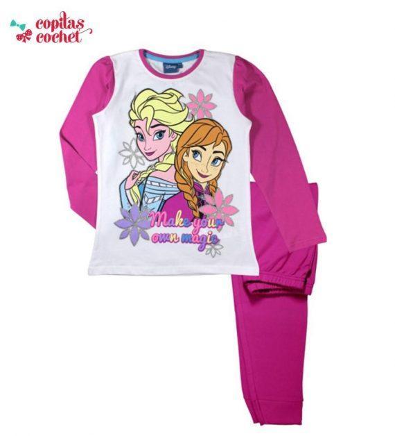 Pijamale Frozen (fucsia) 1