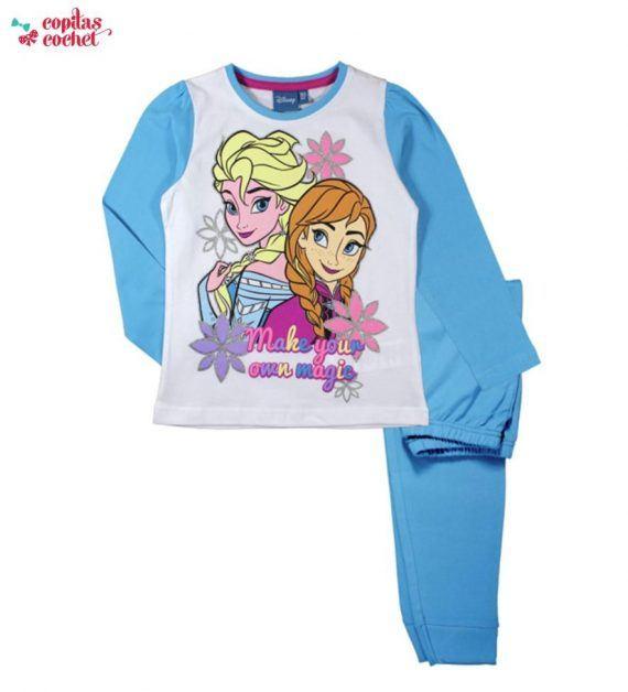 Pijamale Frozen (albastru) 1