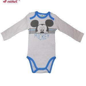 Body Mickey Mouse (albastru) 1